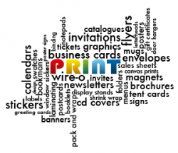 Print services available from Alltrade Printers