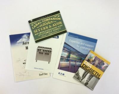 Brochures at Allrade Printers Birmingham West Midlands UK