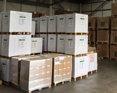 Warehousing at Alltrade Printers