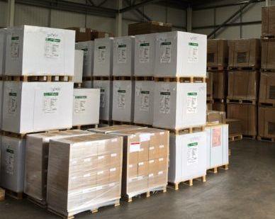 Warehousing at Alltrade Printers